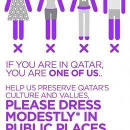 Simple Leggings Are NOT Pants39 Qatar Puts Its Foot Down With Dress Code As