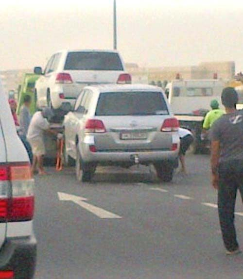 Qatar Police Fine Motorists Impound Hundreds Of Cars In Crackdown