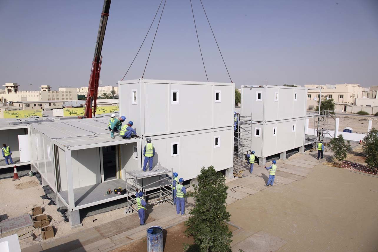 Designed-in-Doha migrant workers\' homes hit the market - Doha News