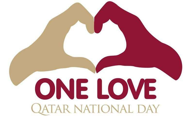 Qatar aims to unify residents with 'One Love' theme on
