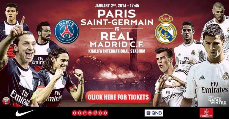 Real Madrid Vs Psg Qatar
