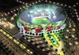 Former rendering of Al Rayyan Stadium
