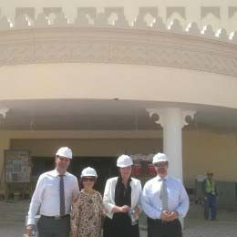 Qatar-Finland International School under construction