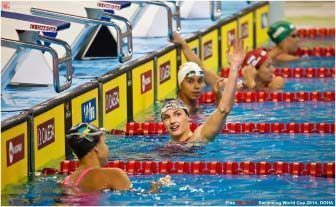 2014 FINA World Cup / swim / swimming / swimmer