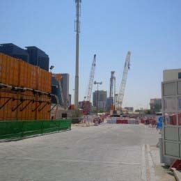 Doha Metro construction