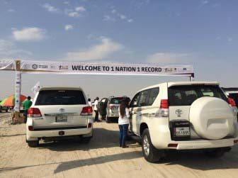 Toyota Qatar, Guinness World Record convoy
