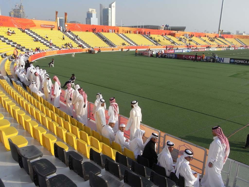 Existing Qatar Sports Club stadium