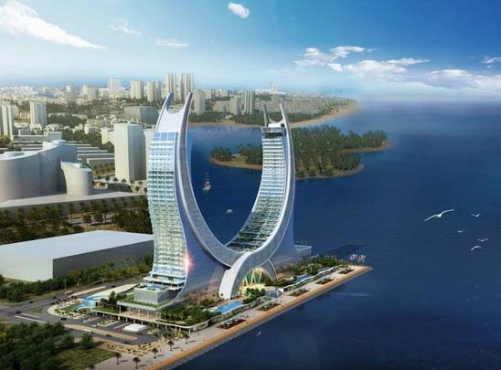 Tenders open for qatar 39 s katara towers as lusail for Architectural design company in qatar