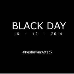 Slate commemorating date of Peshawar school massacre