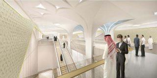 Doha Metro Gold line design
